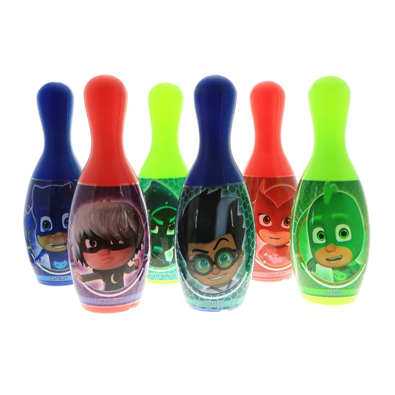 Amazon.com: Kidplay Products Disney Jr PJ Masks Kids Bowling ...