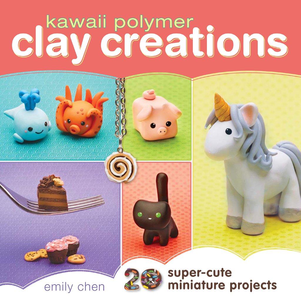 Image of: Kawaii Friday Follow The Author Amazoncom Kawaii Polymer Clay Creations 20 Supercute Miniature Projects