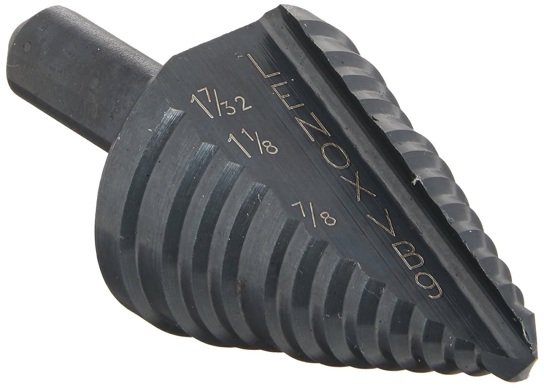 Lenox 30909-VB9 Vari-Bit 7/8-Inch, 1-1/8-Inch and 1-7/32-Inch Step Drill Bit with 3/8-Inch Shank 30909VB9