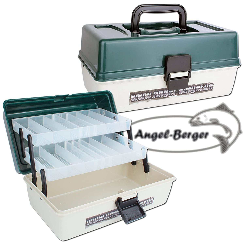 Angel Berger Angelkoffer 2 ladig Gerätekoffer