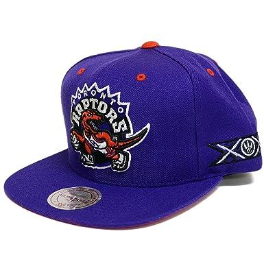 4260cdd8c45 Amazon.com  Toronto Raptors 20th Anniversary Snapback Hat (Purple)  Clothing