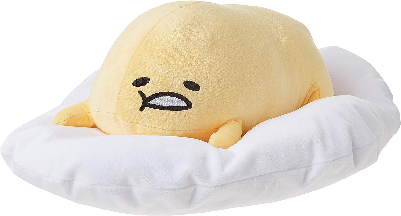 "GUND Gudetama ""Lazy Laying Down Pose"" Stuffed Animal Plush, 17"""