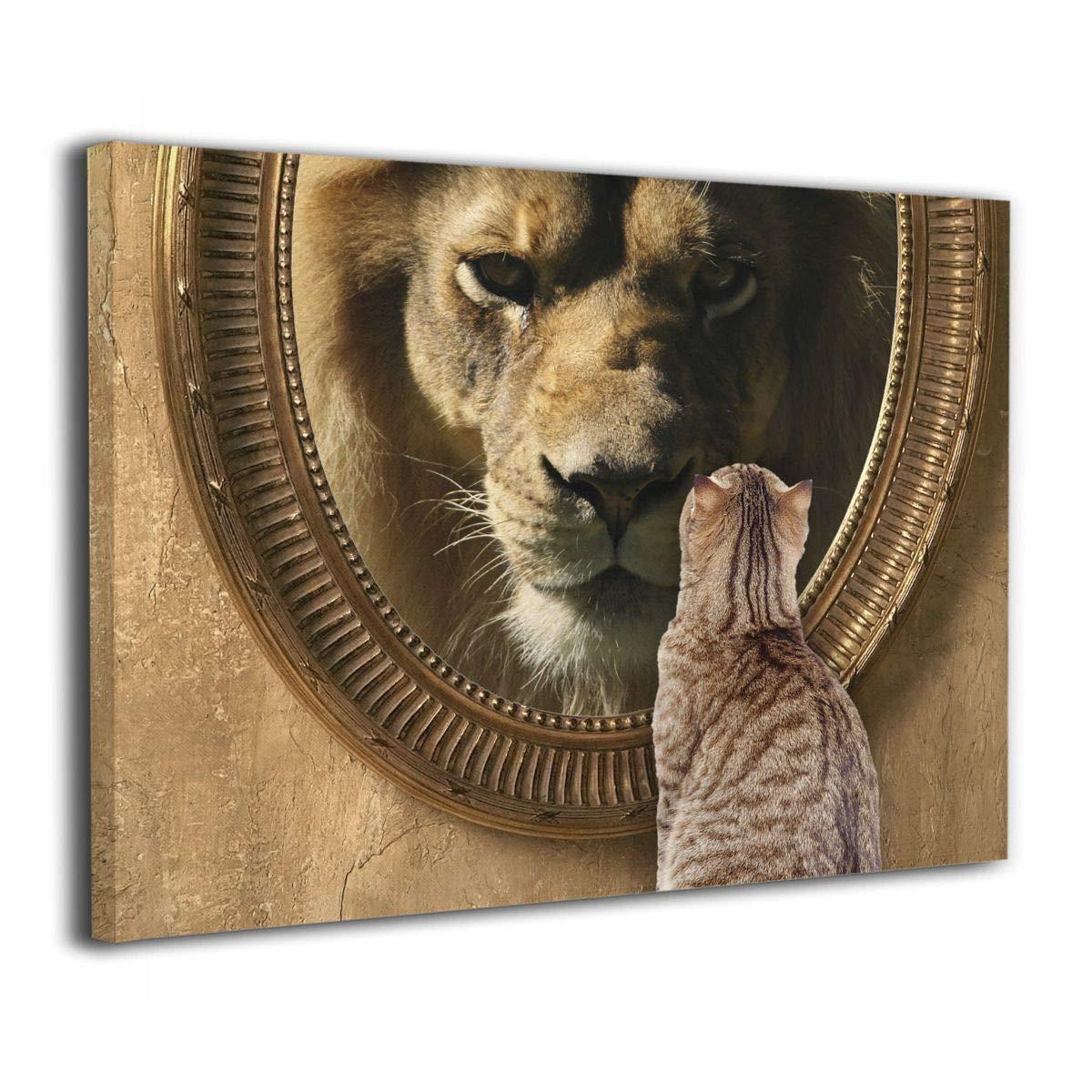 Mirror cat lion CAT LION