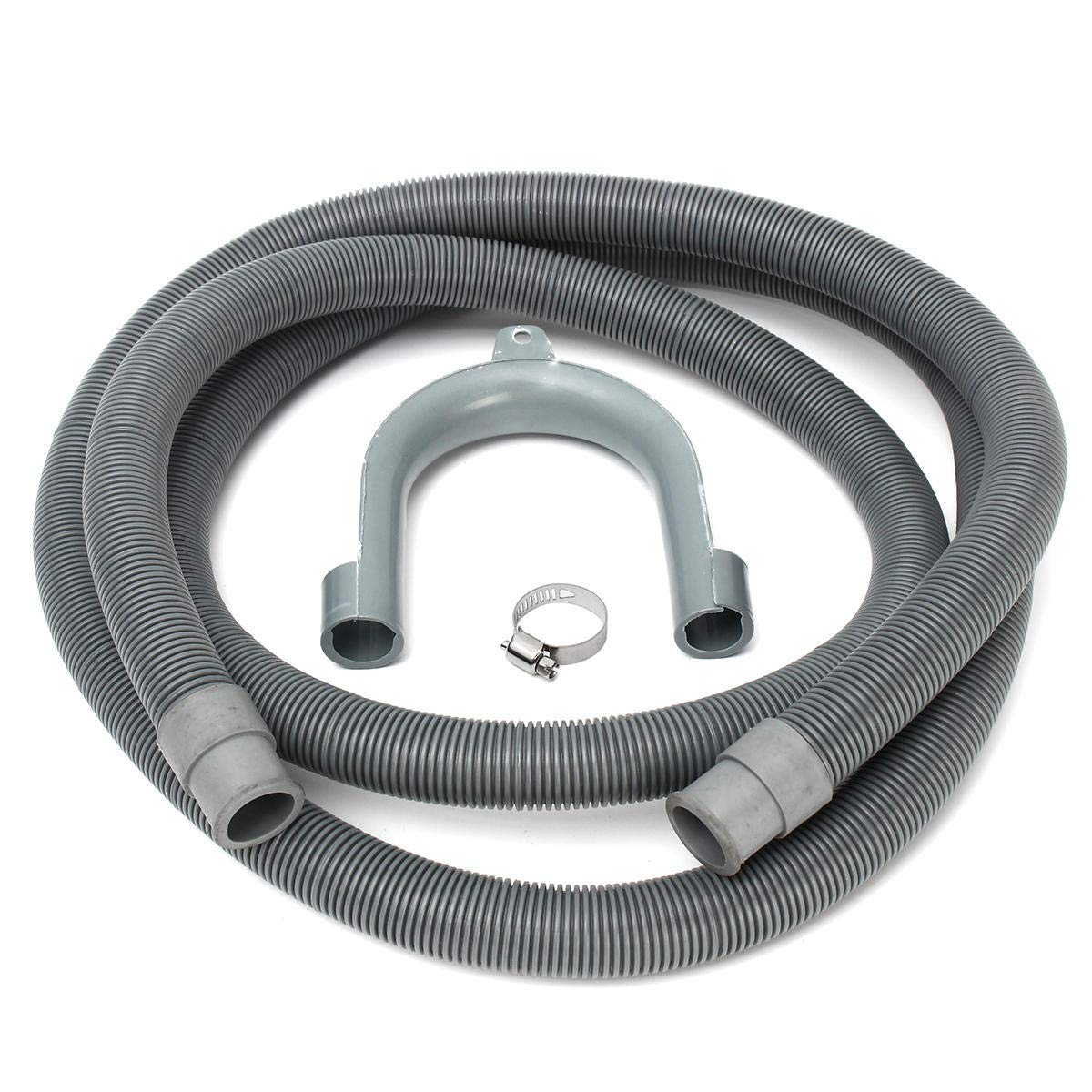 GIlH Extension Drain Hose Water Pipe For Hotpoint Washing Machine 2.5M