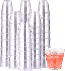 1000 PACK Plastic Shot Glasses-1 Oz Disposable Cups-1 Ounce Tasting Cups-Party Cups Ideal for Whiskey, Wine Tasting, Food Samples.Perfect for Halloween ,Christmas ,Thanksgiving Day Party.
