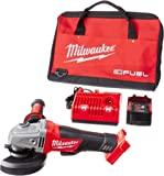 "Milwaukee 2780-21  M18 FUEL 4-1/2""/5"" PAD,1 Battery KIT"
