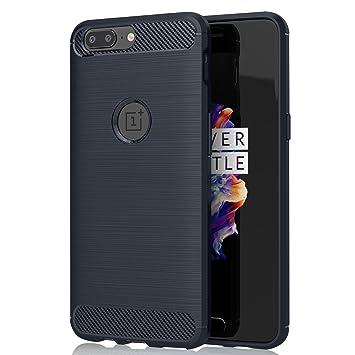 OnePlus 5 Funda KuGi OnePlus 5 Suave Carcasa Silicona Funda Bumper con Absorción de Impactos y Anti-Arañazos Case Cover para OnePlus 5 Smartphone ...