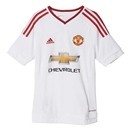 e4dcd1c8353 adidas Youth Climacool Manchester United Away Replica Soccer Jersey Small