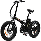Addmotor MOTAN Electric Bikes 20 inch 500W 48V 4 Colors Fat Tire Portable Mini Folding Electric Bicycles 2017 M-150 E-Bike With Battery