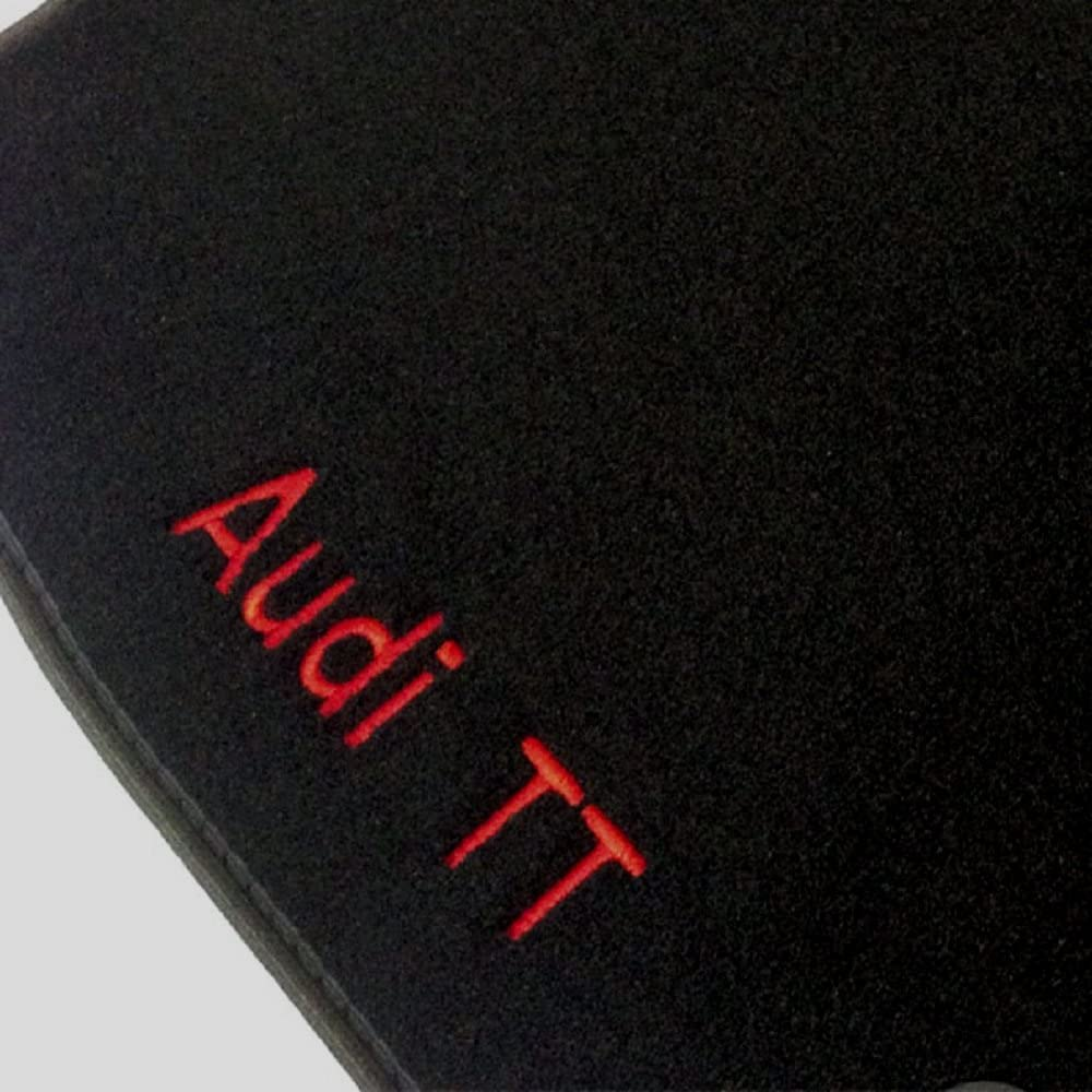 One fr2501 5F cod Depuis 10.2012- sur Mesure en Velours Noir MTM Tapis de Sol Leon III