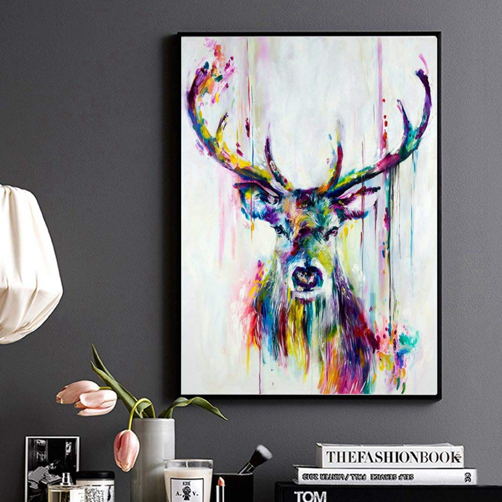 quote Stags head poster prints wallart party print gift bedroom posters
