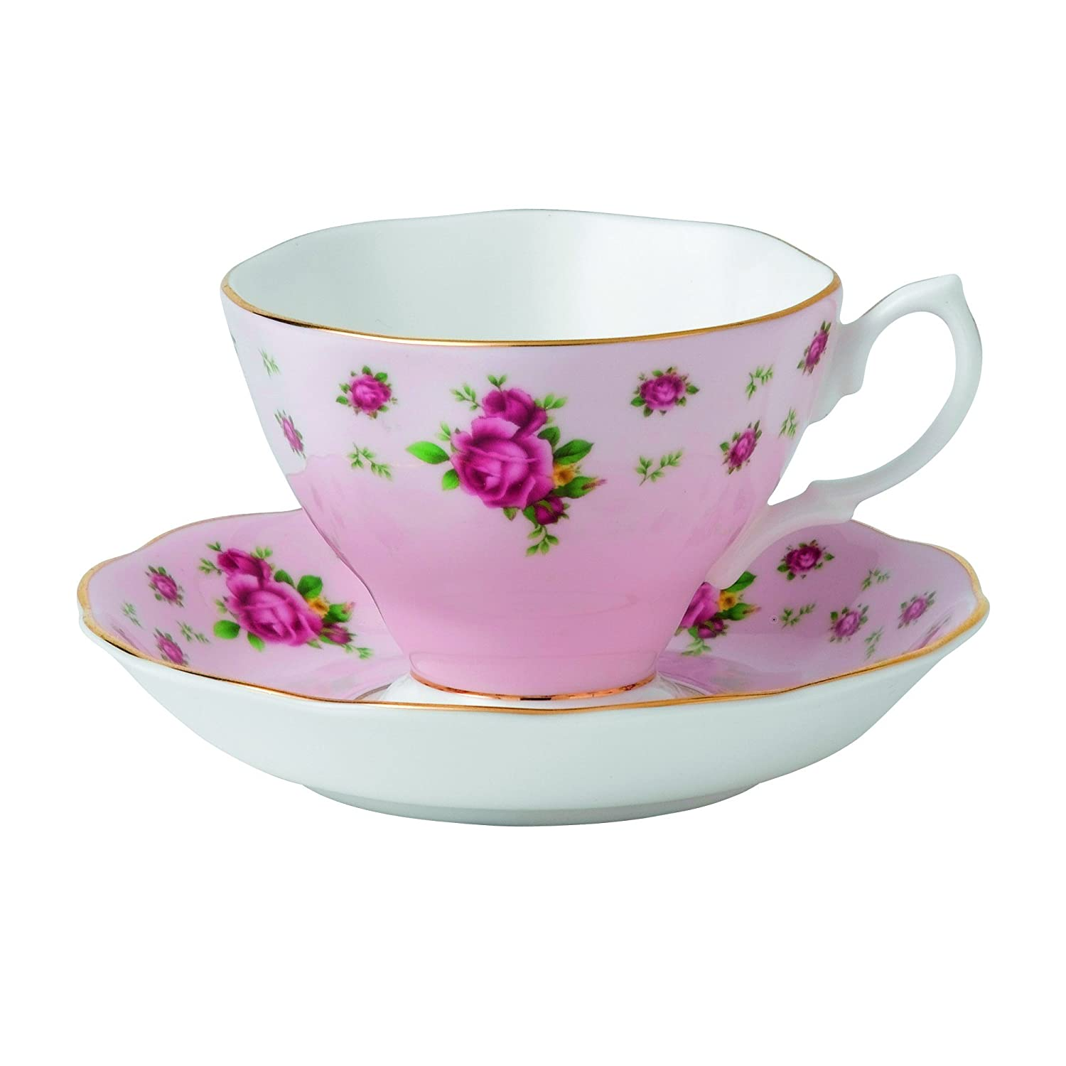 teacup  saucer amazoncouk kitchen  home -