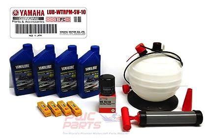 Amazon com: YAMAHA SVHO 1 8L WaveRunner Oil Change Kit w