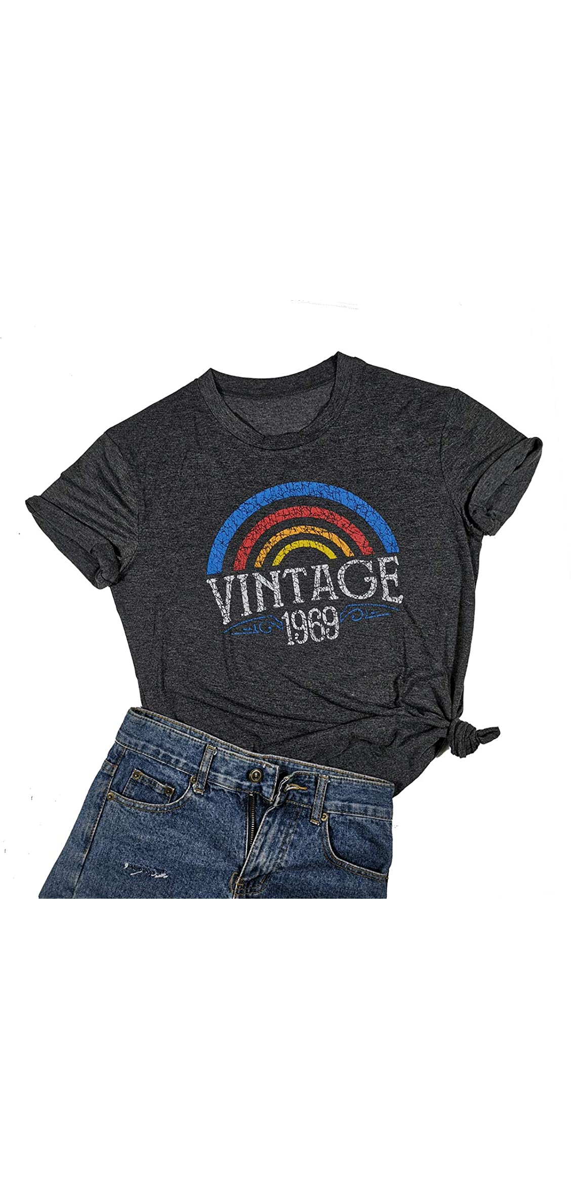 Vintage  Original Parts T Shirt Women Th Birthday Gift Top
