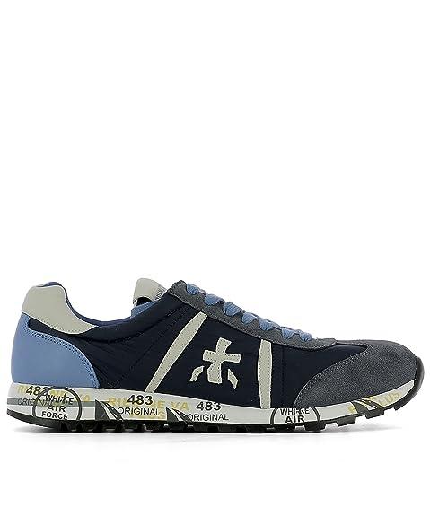 Sneakers for Men On Sale, Blue, blue, 2017, 7 9 Premiata