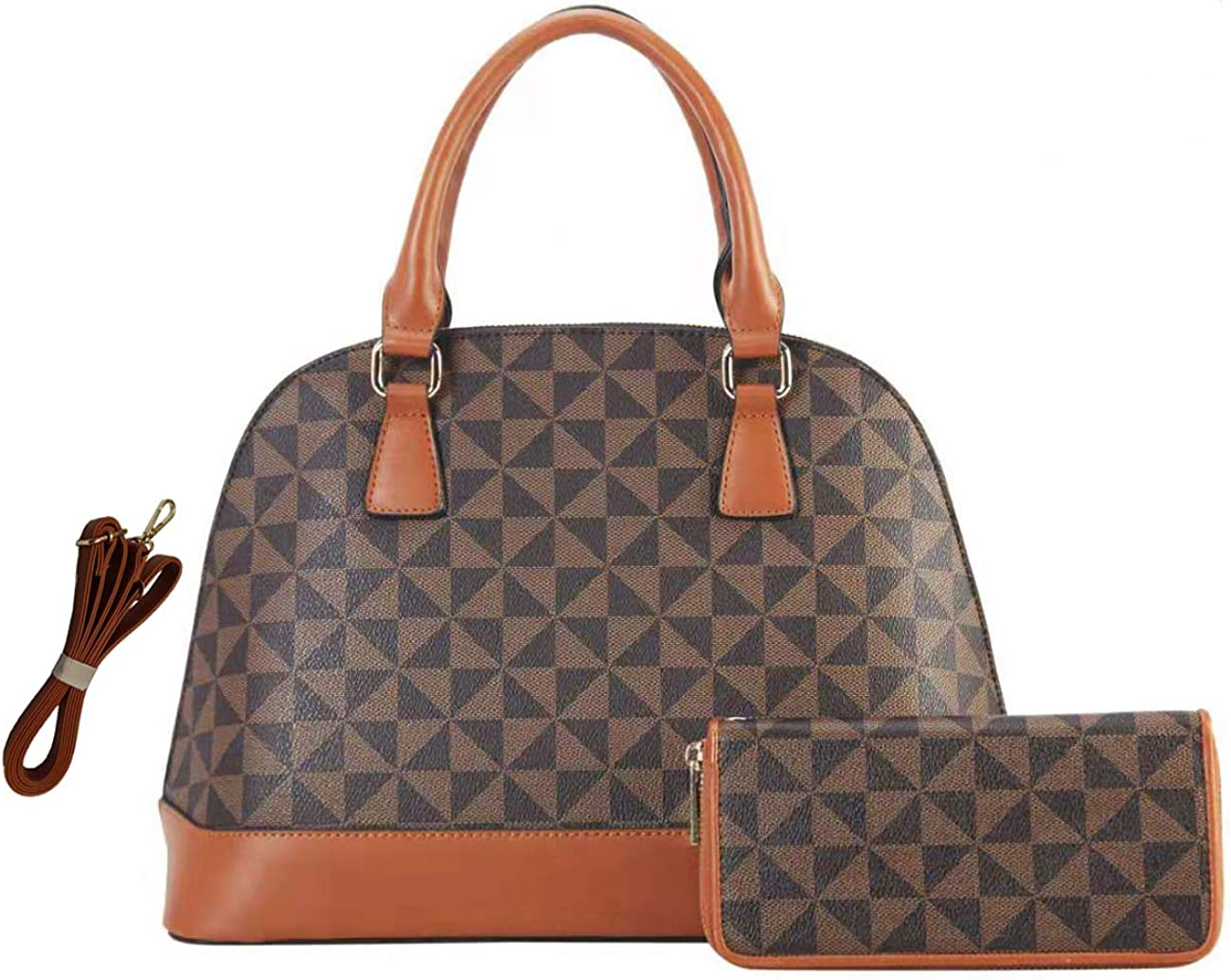 Handbags Domed Shoulder Bag...