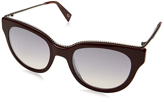 6ac2273bad98 Image Unavailable. Image not available for. Color  Marc Jacobs Women s  Marc165s Oval Sunglasses ...