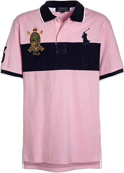Polo Ralph Lauren SS Big P MSH TP Knt - Polo Rosa Niño (8 Años ...