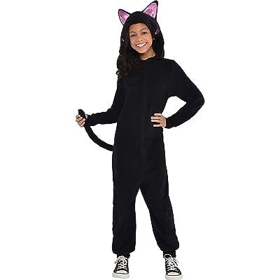 Child Black Cat Onesie Costume: Toys & Games