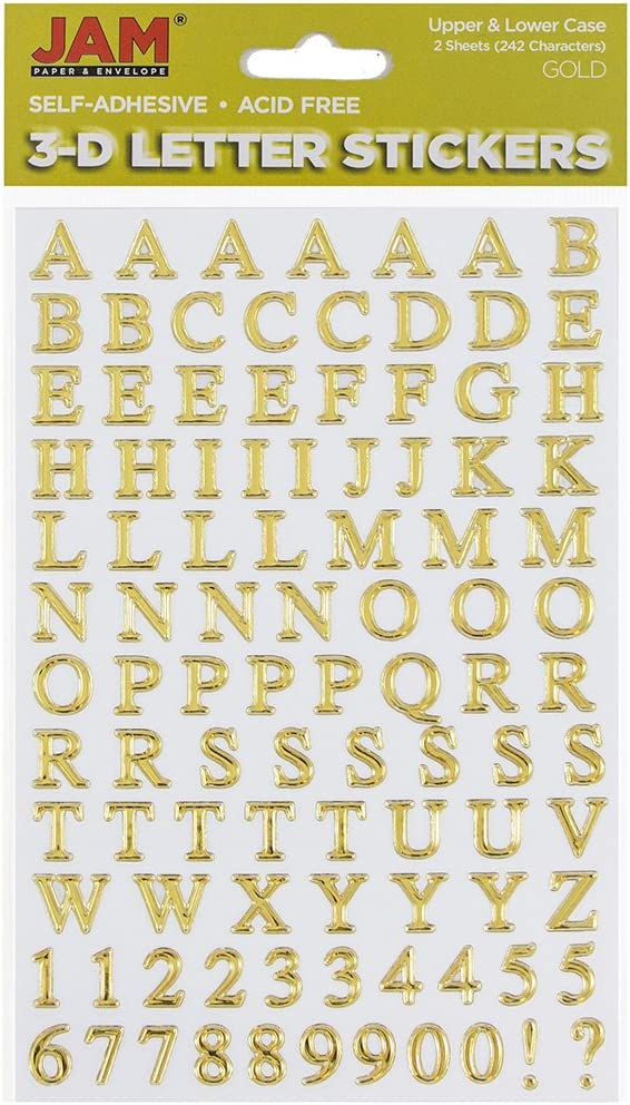 SELF ADHESIVE VINYL LETTERS /& NUMBERS UPPER//LOWER STICKERS SIZE 1/""