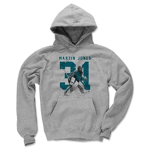 3-24 Months Martin Jones Grunge 500 LEVEL Martin Jones San Jose Hockey Baby Clothes /& Onesie