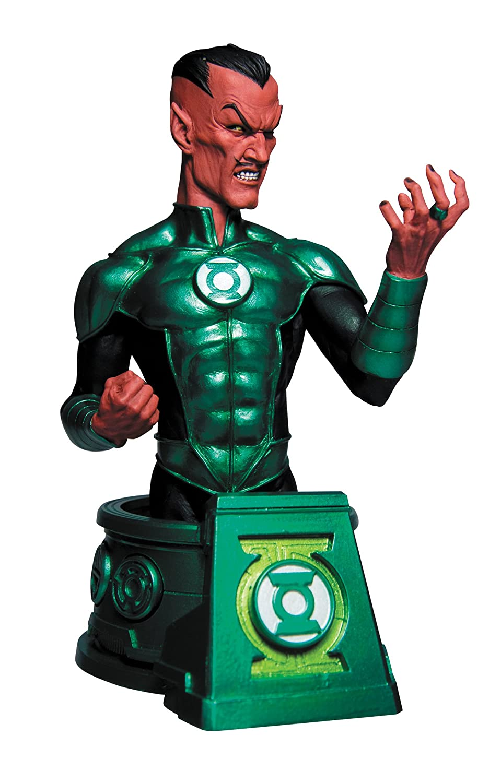 DC Collectibles neroest Night Sinestro AS verde Lantern Bust