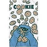 Sesame Street Cookie Crumble Beach Towel White Beach 36X58