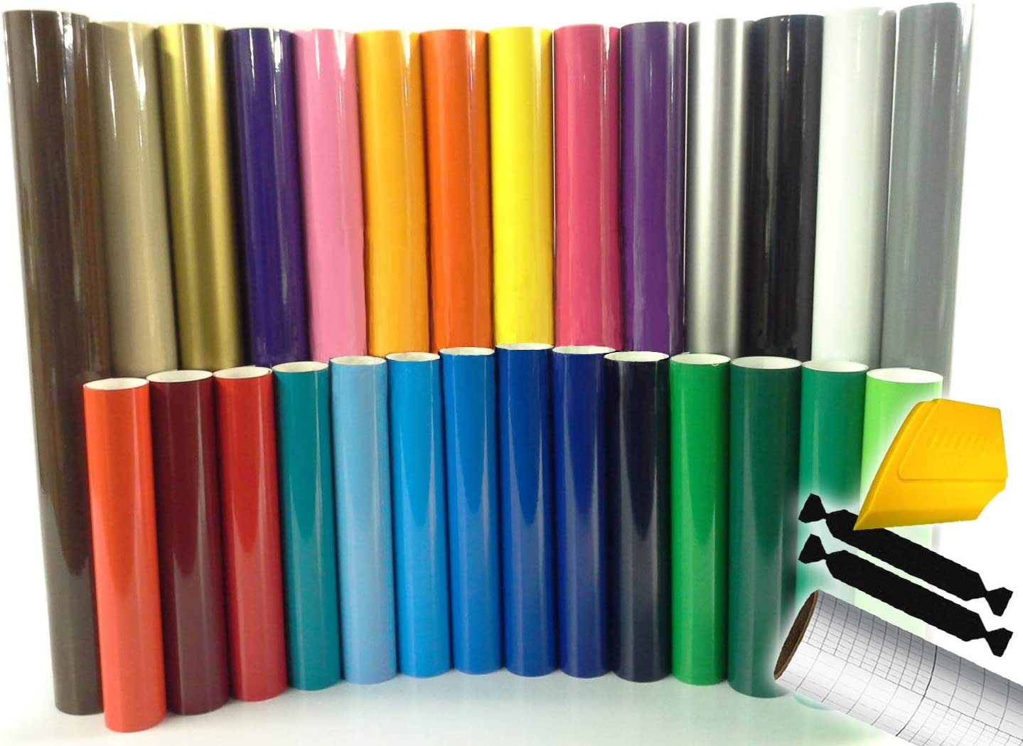 "24/"" X 10ft Oracal 651 Sign Cutting Vinyl Bundle 2 Rolls *27 Color Choices*"
