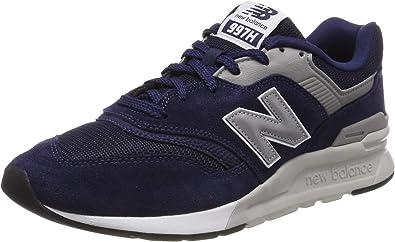 New Balance 997H Core, Zapatillas para Hombre, Plateado (Pigment/Silver),  38 EU