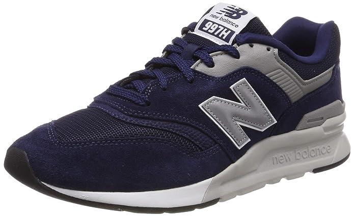 New Balance 997H Core Sneaker Herren Blau/Silber (Pigment/Silver)