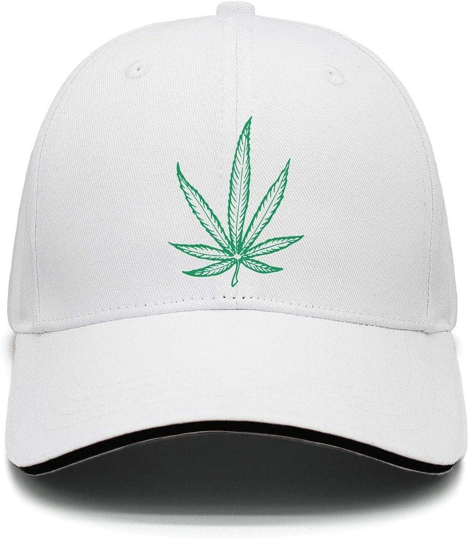 Baseball Cap Pot Leaf 420 Marijuana Weed Pot Snapbacks Truker Hats Unisex Adjustable Fashion Cap