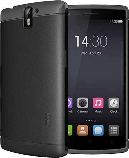 TUDIA OnePlus One Funda, Ultra Delgado Lite TPU Caso de Parachoques de protección Funda Carcasas para OnePlus One (Negro): Amazon.es: Hogar