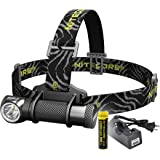 Nitecore HC30 1000 Lumens Rechargeable LED Headlamp with 18650 Battery and Charger