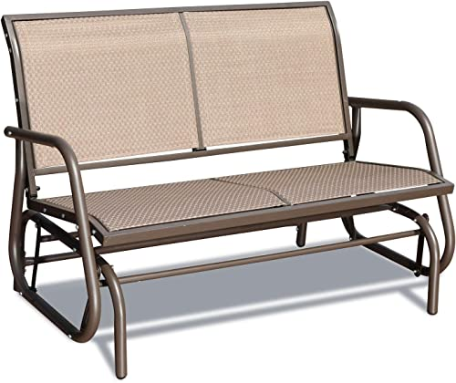 GOLDSUN Swing Glider Chair Patio Swing Bench