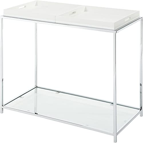 Convenience Concepts Palm Beach Console Table, White