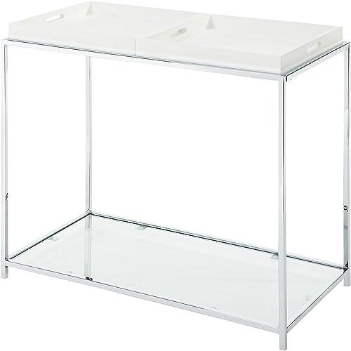 Convenience Concepts Palm Beach Console Table, White