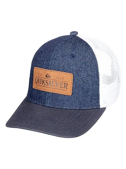 fda507e897f39 Quiksilver Vine Beater - Casquette Trucker - Homme - One Size - Bleu ...