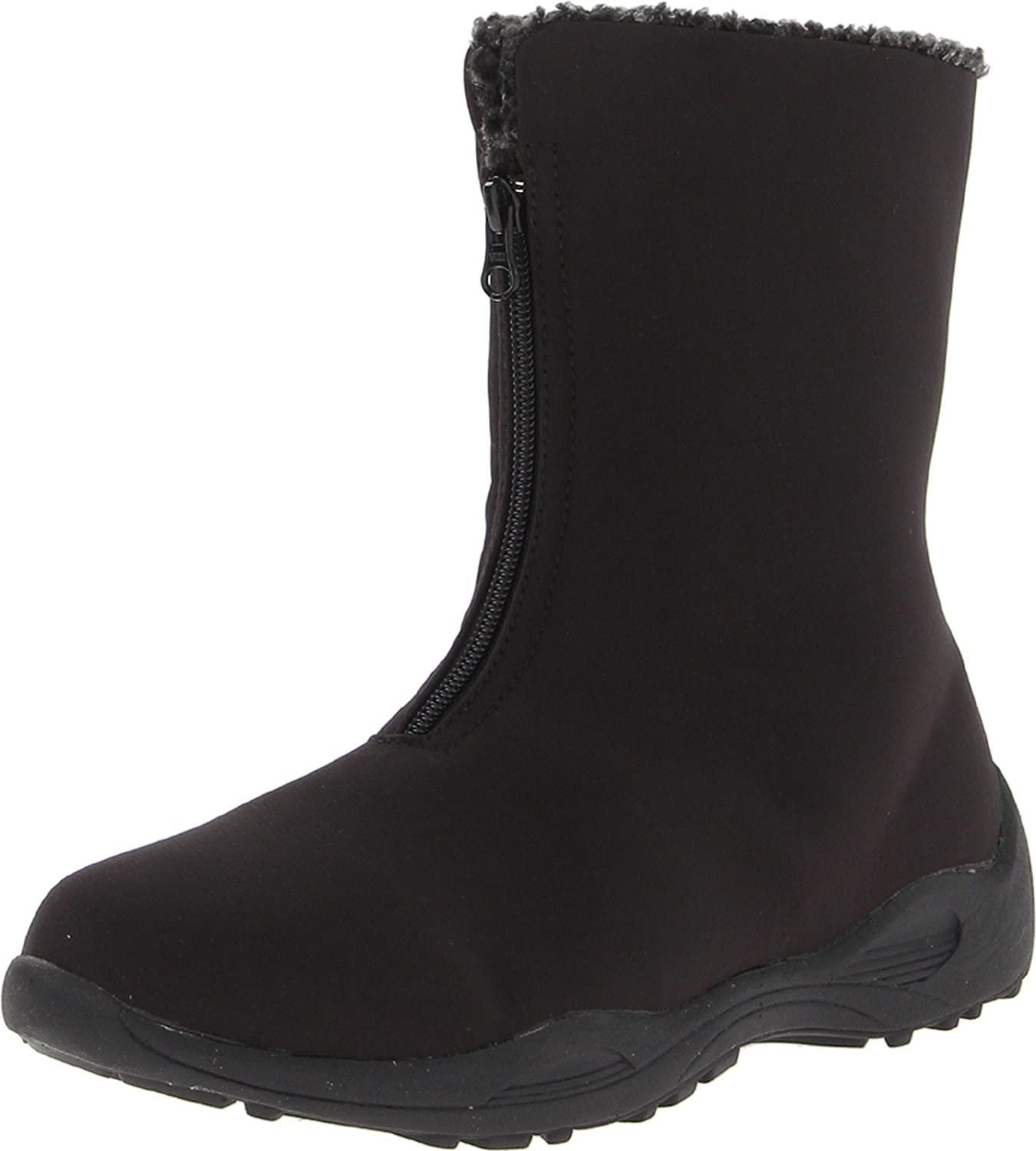 Propet Women's Madison Mid Zip Boot B00BBHL4SI 7.5 2E US|Black