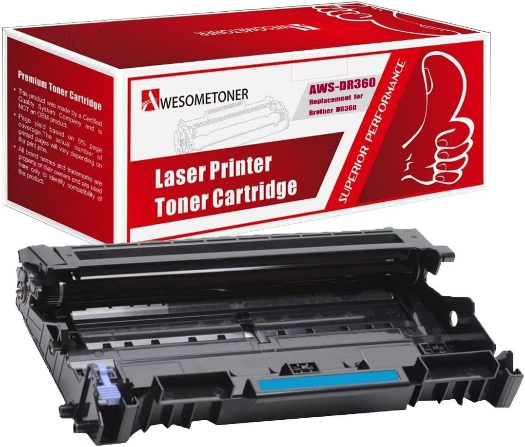 Black,1 Drum SuppliesOutlet Compatible Drum Unit Replacement for Brother DR360 DR-360 for Use with MFC-7440n