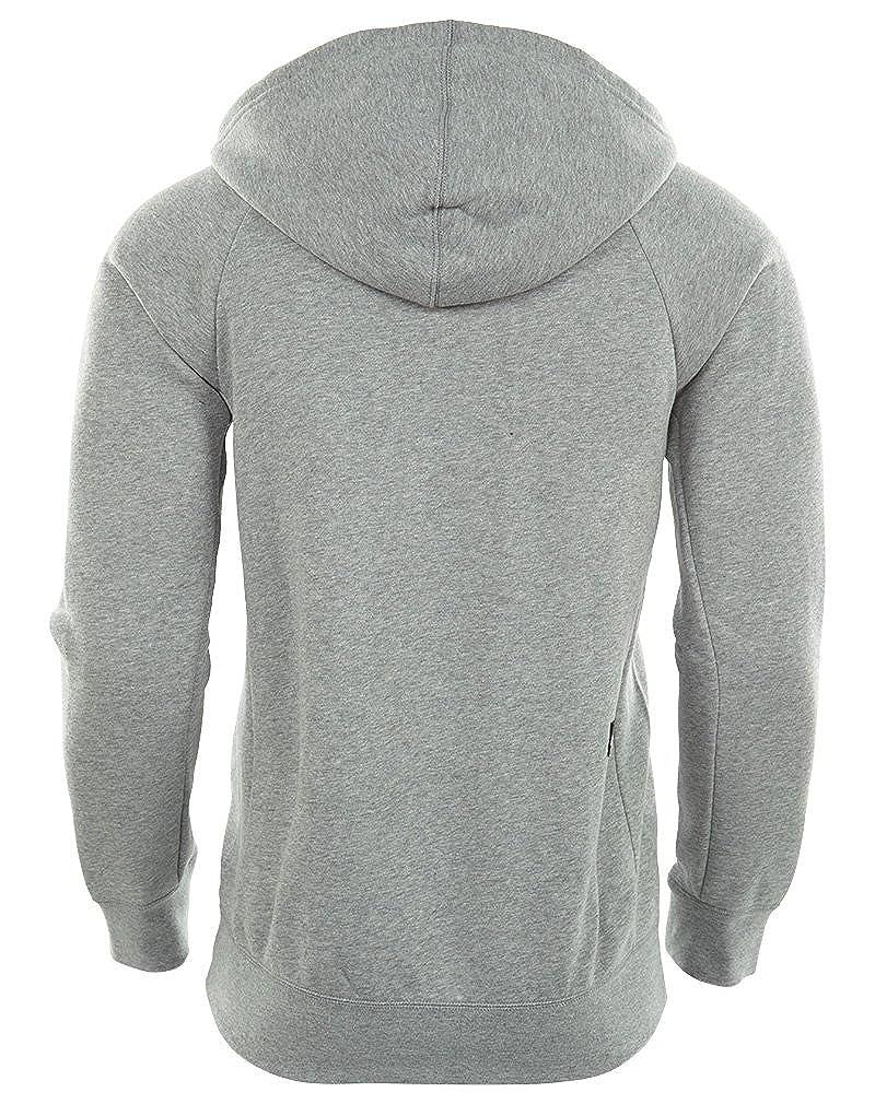 9b4013b5f0ea NIKE Mens SB Icon Full Zip Sweatshirt Dark Grey Heather Black 800149-063  Size Small  Amazon.ca  Sports   Outdoors