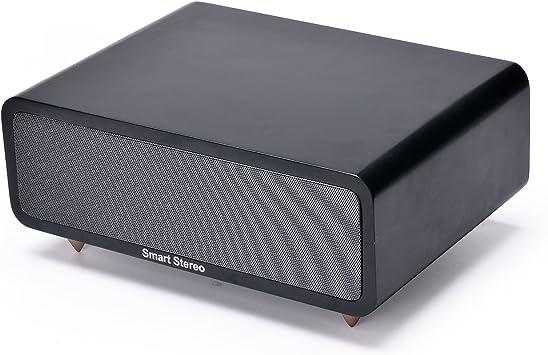 SmartStereo - Altavoz para el hogar con Bluetooth, 30 W, Amplificador Integrado con Sistema de Sonido Hi-Fi Original, 15 Wx2, Controlador Original nítido y Transparente. Diseñador: Rual Eugen Chinda.: Amazon.es: Electrónica