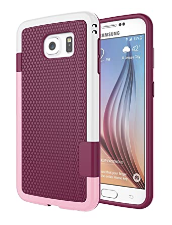 Amazon.com: Galaxy S6 Carcasa, jeylly [3 colores] Slim ...
