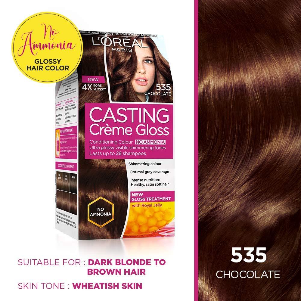 Amazon Com L Oreal Paris Casting Creme Gloss Chocolate 535 87 5g