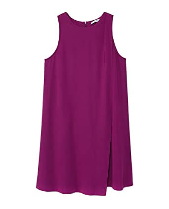 Mango Damen Double Layer Dress 33090653  Amazon.de  Bekleidung 2099fbb1d1