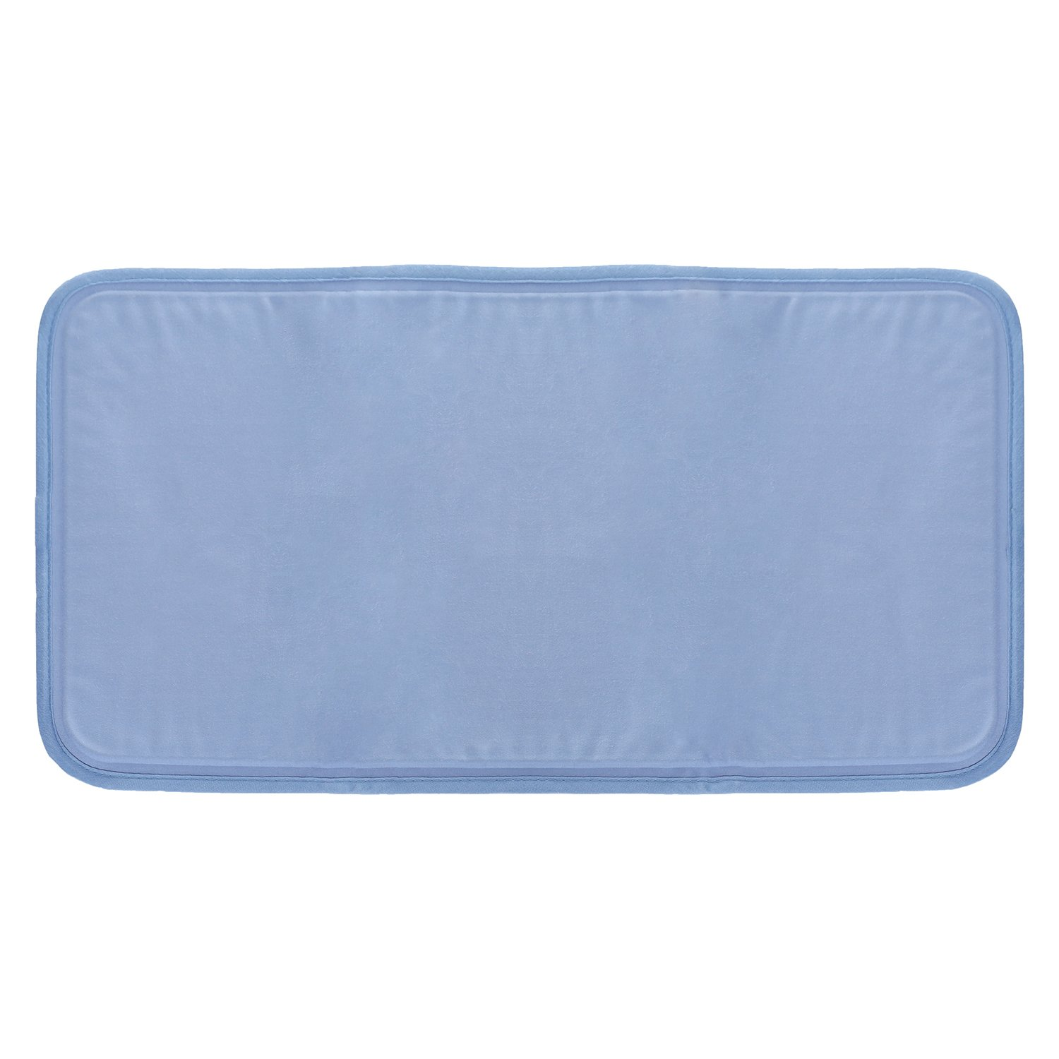 "LiveFine Cooling Pillow pad, Relief For Night Sweats, Migraines, Hot Flashes, Fevers, Neck Pain Large Size 12"" x 15"", Foldable Solid Gel Cool Mat"