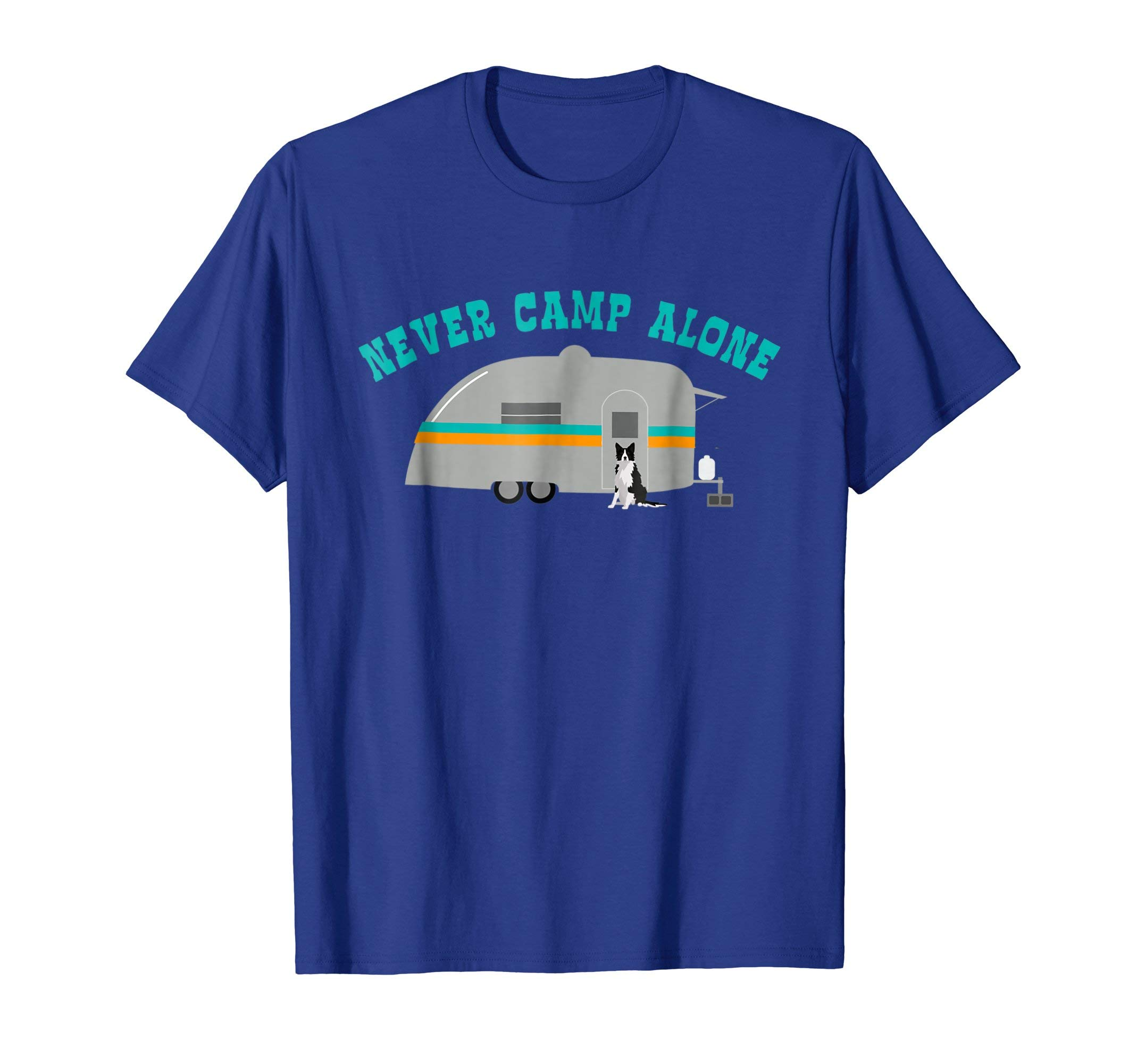Border Collie Dog RV Shirt Funny Camping Travel Trailer