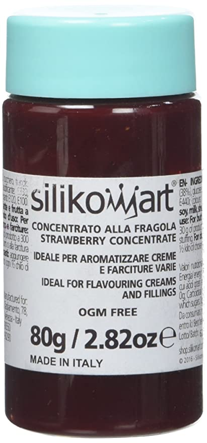 silikomart Concentrado alimenticio Gusto Fresas