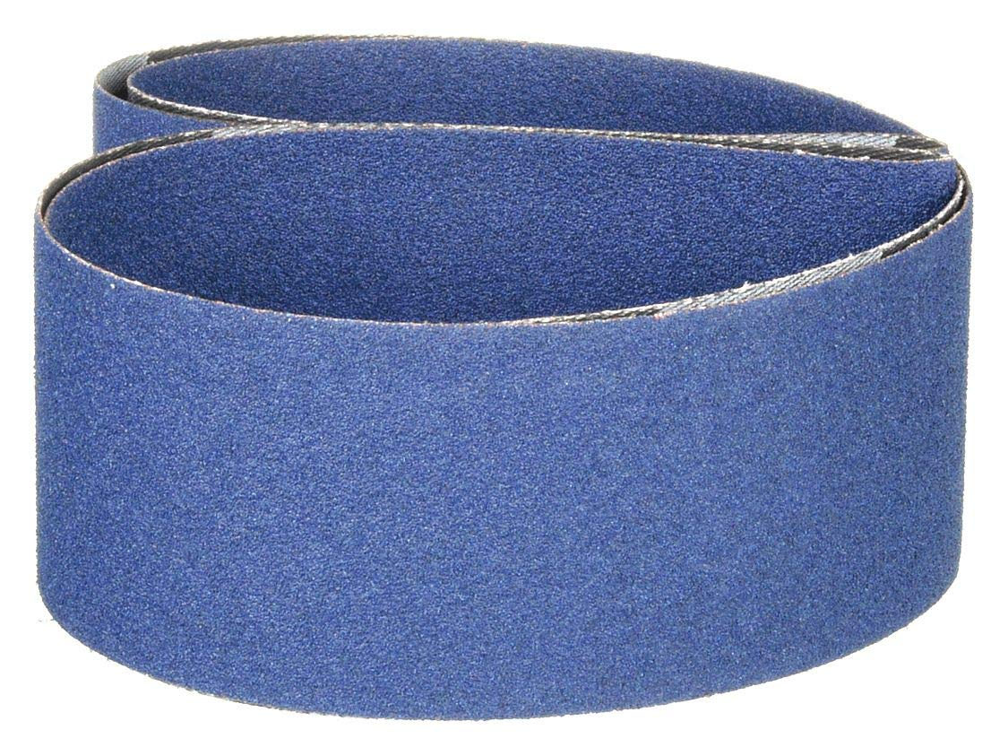 Zirconia Alumina Abrasive Belt 80 Grit 2 Wide x 48 Long
