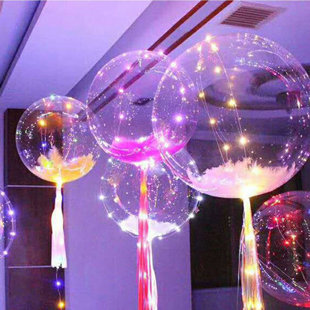 Phantomx LED Transparent Bobo Ballon Wedding Birthday Party Lights Deco by Unknown