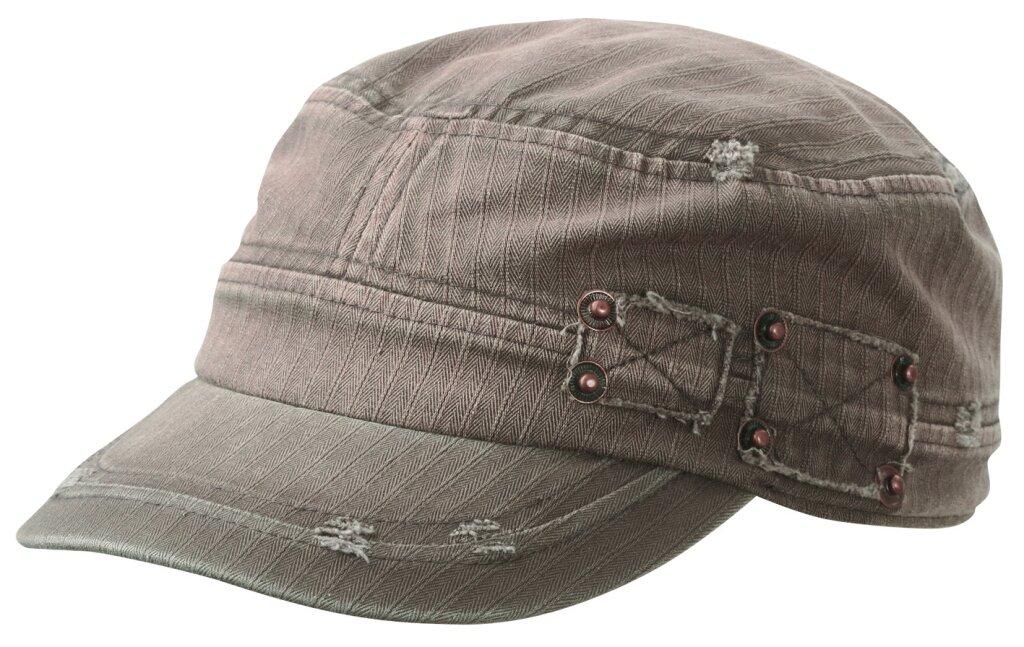 Myrtle Beach Cappello militare a spina di pesce (black)